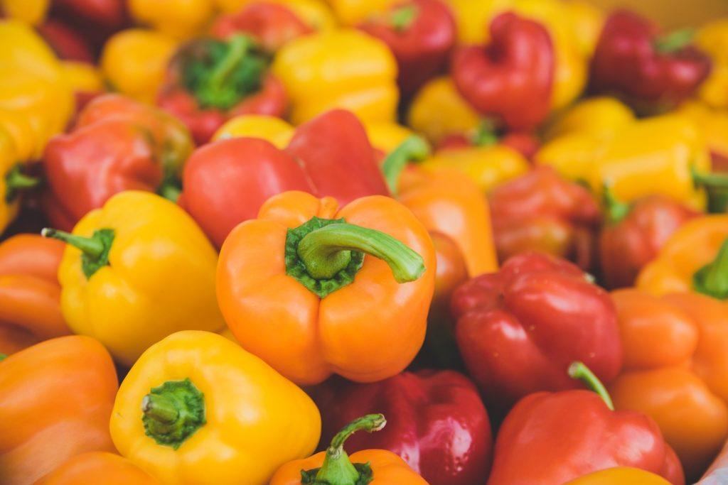 Grignoter sans grossir : les poivrons