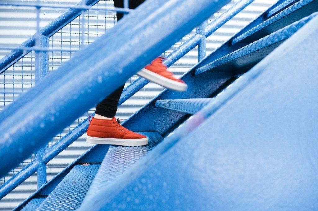 Le sport fait-il maigrir ? Les escaliers